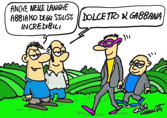 Vignetta di Roby Giannotti - Dolcetto e Gabbana